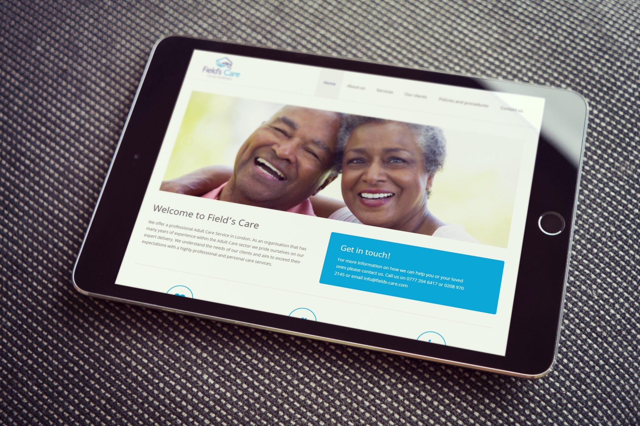 Fields Care - Fields Care (Website) - Creative Digital