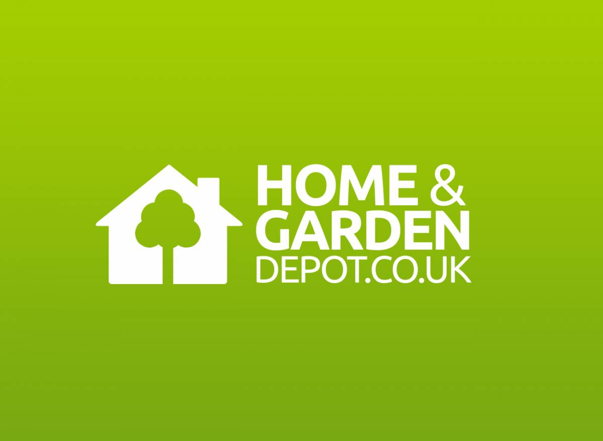 Portfolio creative digital Homes and gardens logo