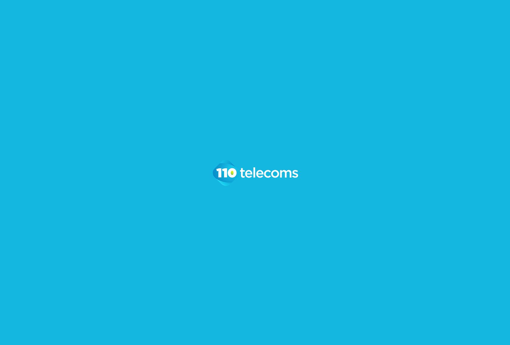 110 Telecoms Logo 2 - 110 Telecoms - Creative Digital