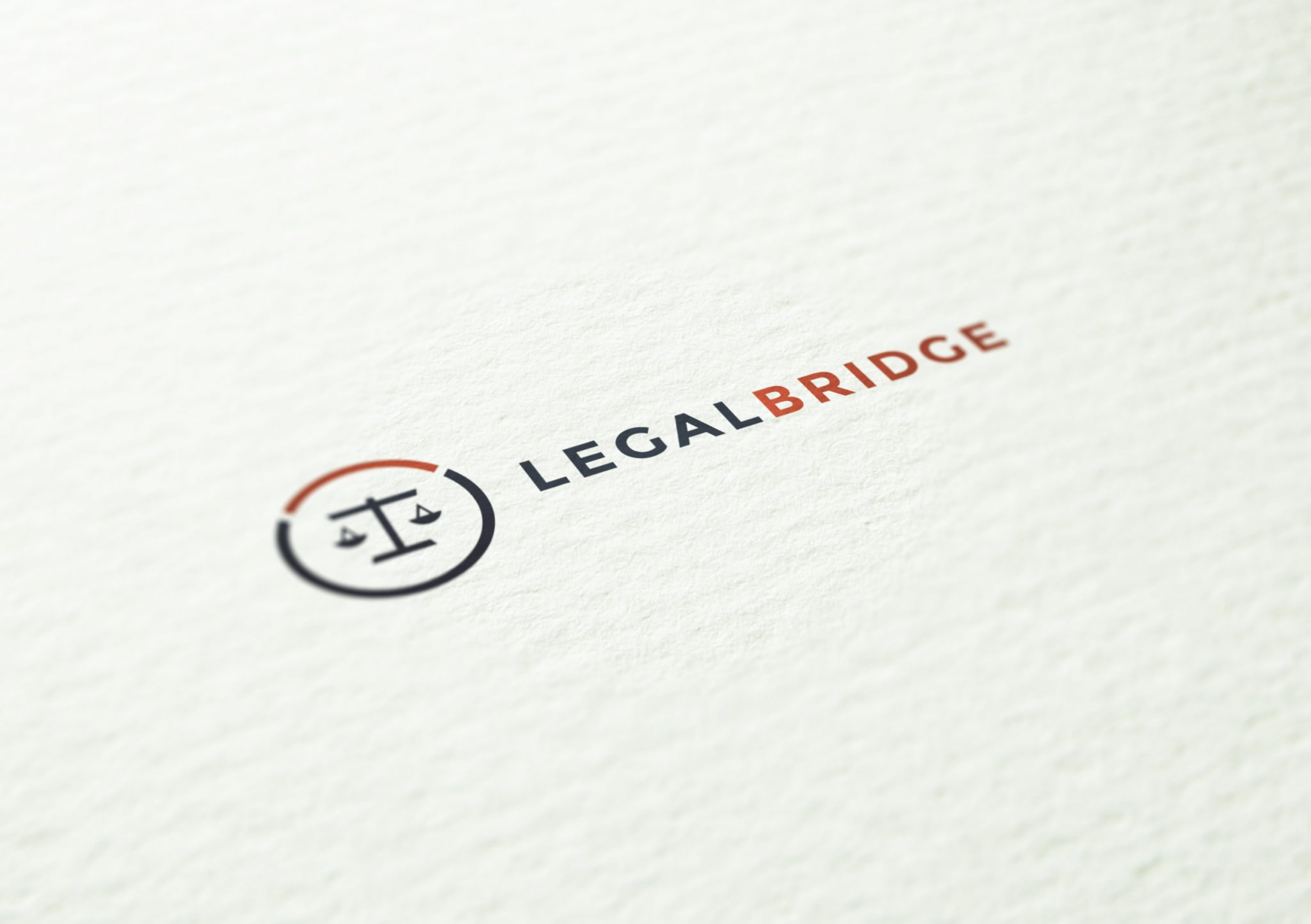 Legal Bridge Logo Mockup - Legal Bridge - Creative Digital