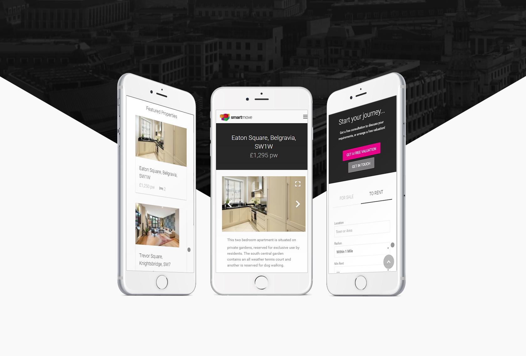 Smart Move Mobile - Smart Move (website) - Creative Digital
