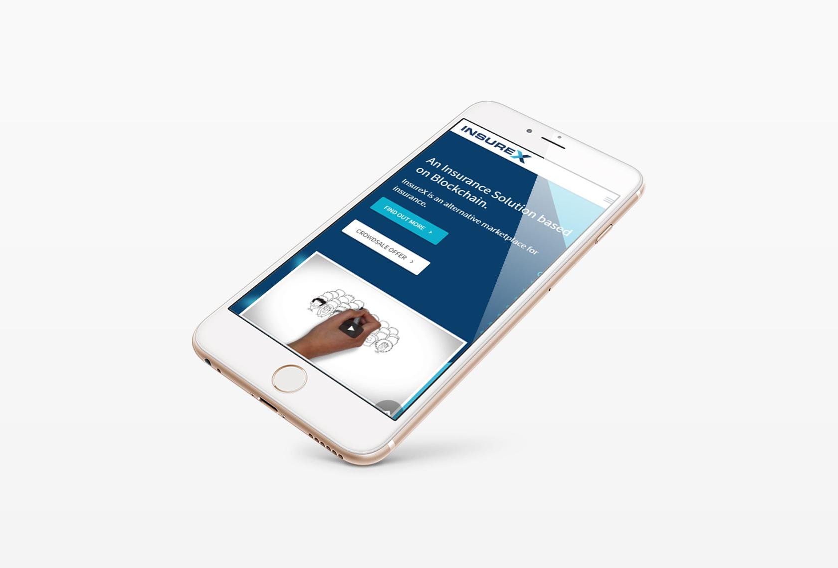InsureX Mobile 1 - InsureX (Branding) - Creative Digital