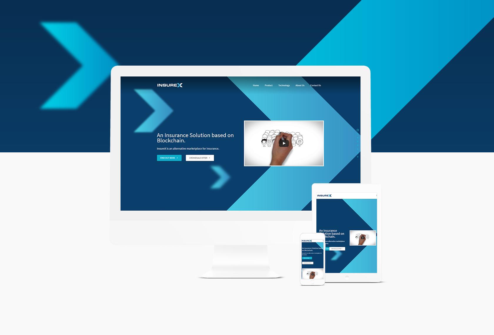 InsureX Responsive 1 - InsureX (Branding) - Creative Digital