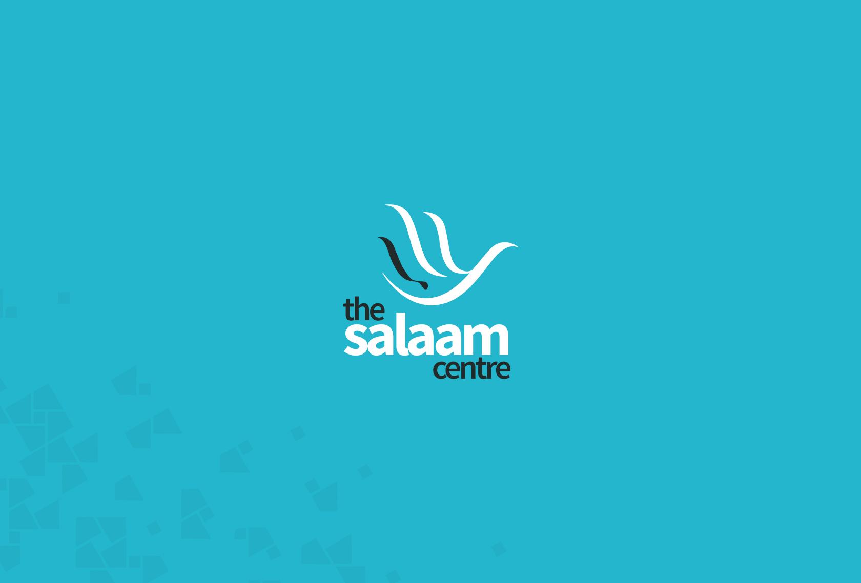 Salaam Logo Blue - The Salaam Centre (Branding) - Creative Digital