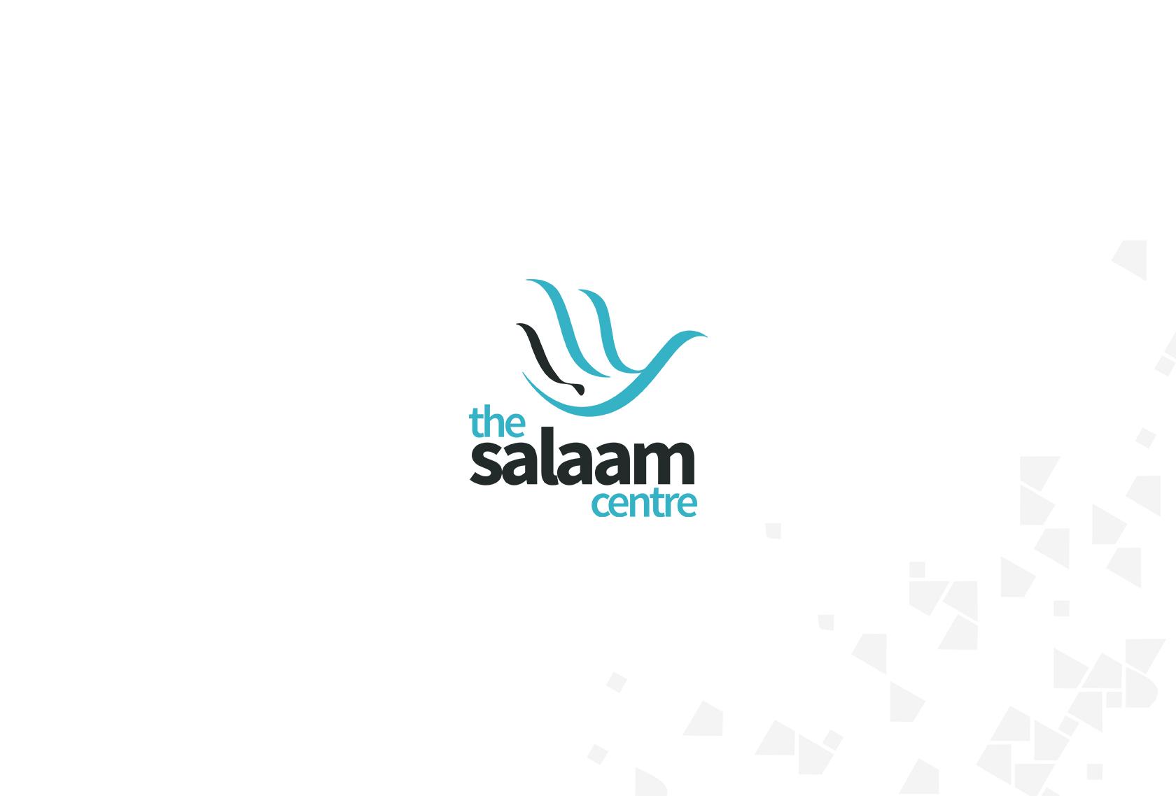Salaam Logo White - The Salaam Centre (Branding) - Creative Digital