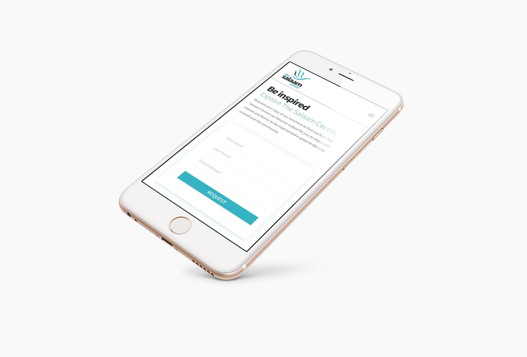 Salaam Mobile - The Salaam Centre (Website) - Creative Digital