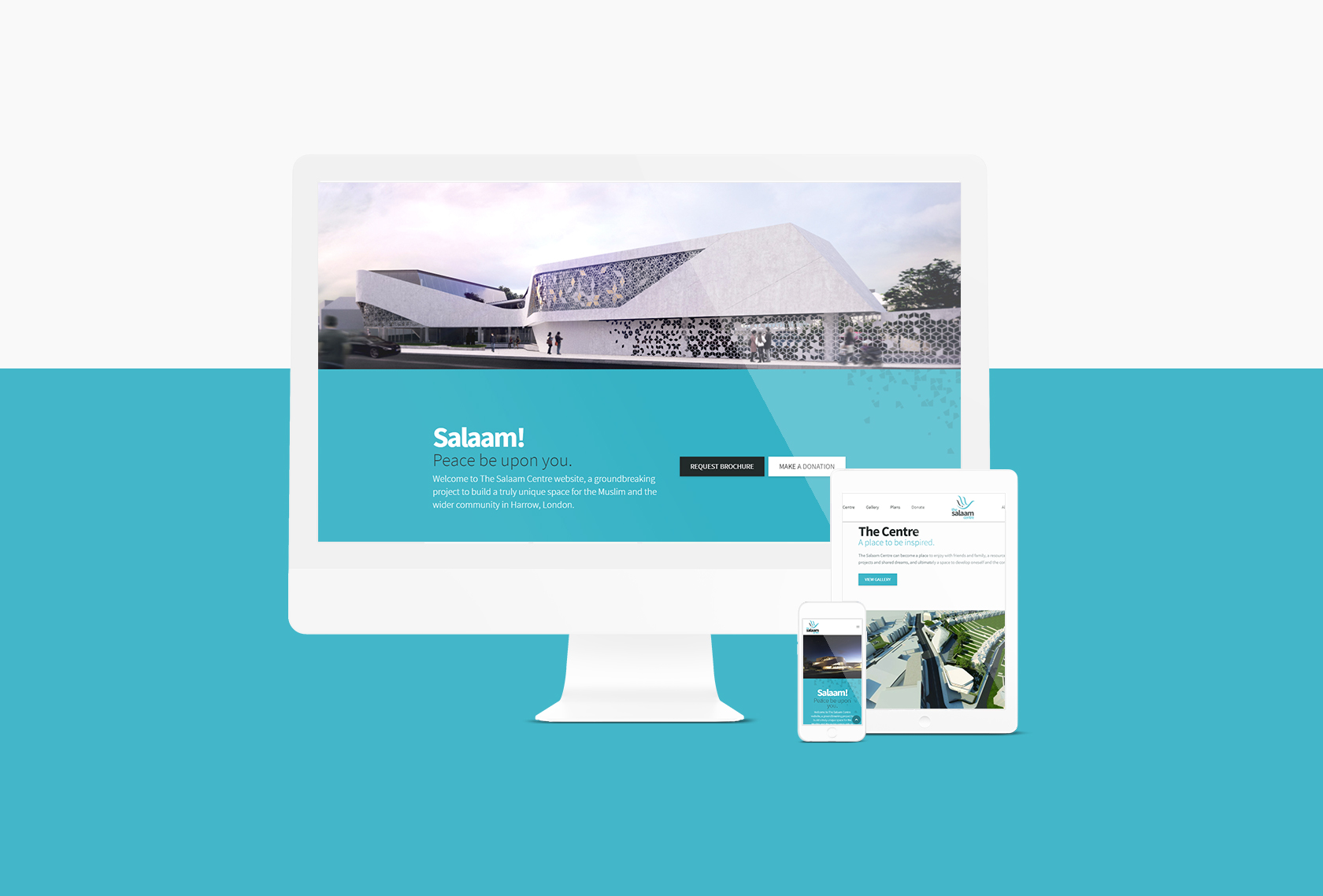 Salaam Responsive - The Salaam Centre (Website) - Creative Digital