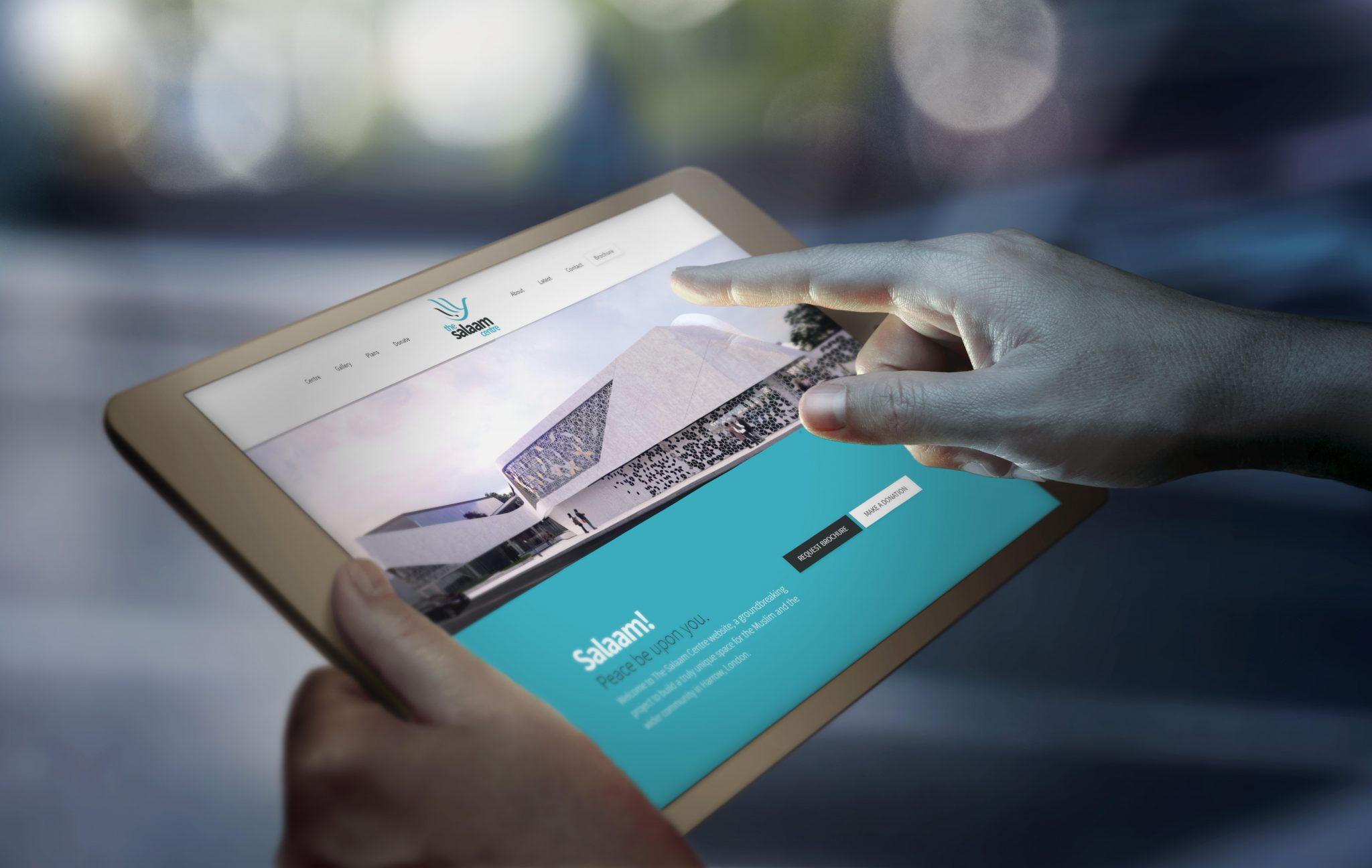 Salaam Website - The Salaam Centre (Website) - Creative Digital