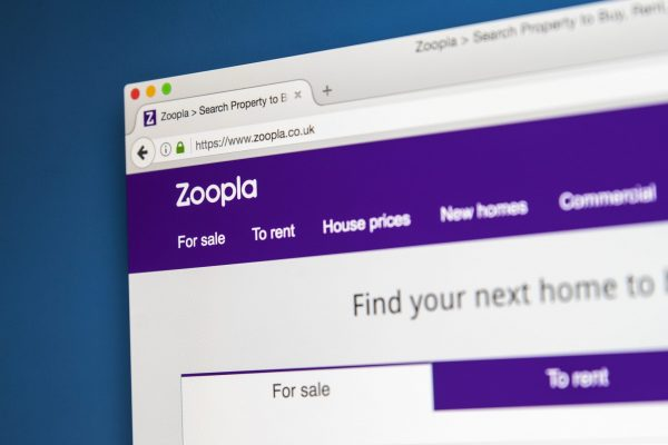estate agent website design zoopla